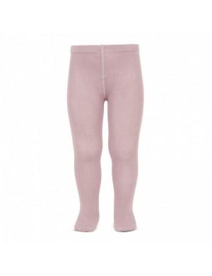 Leotardo liso rosa palo